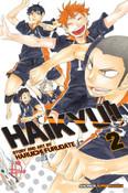 Haikyu!! Manga Volume 2 + GWP