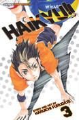 Haikyu!! Manga Volume 3 + GWP