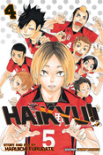Haikyu!! Manga Volume 4