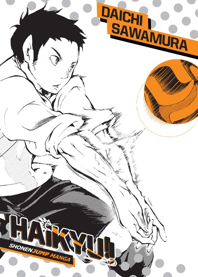 Haikyu!! Manga Volume 4 + GWP