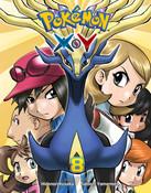 Pokemon XY Manga Volume 8