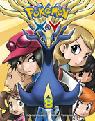 Pokemon XY Manga Volume 8