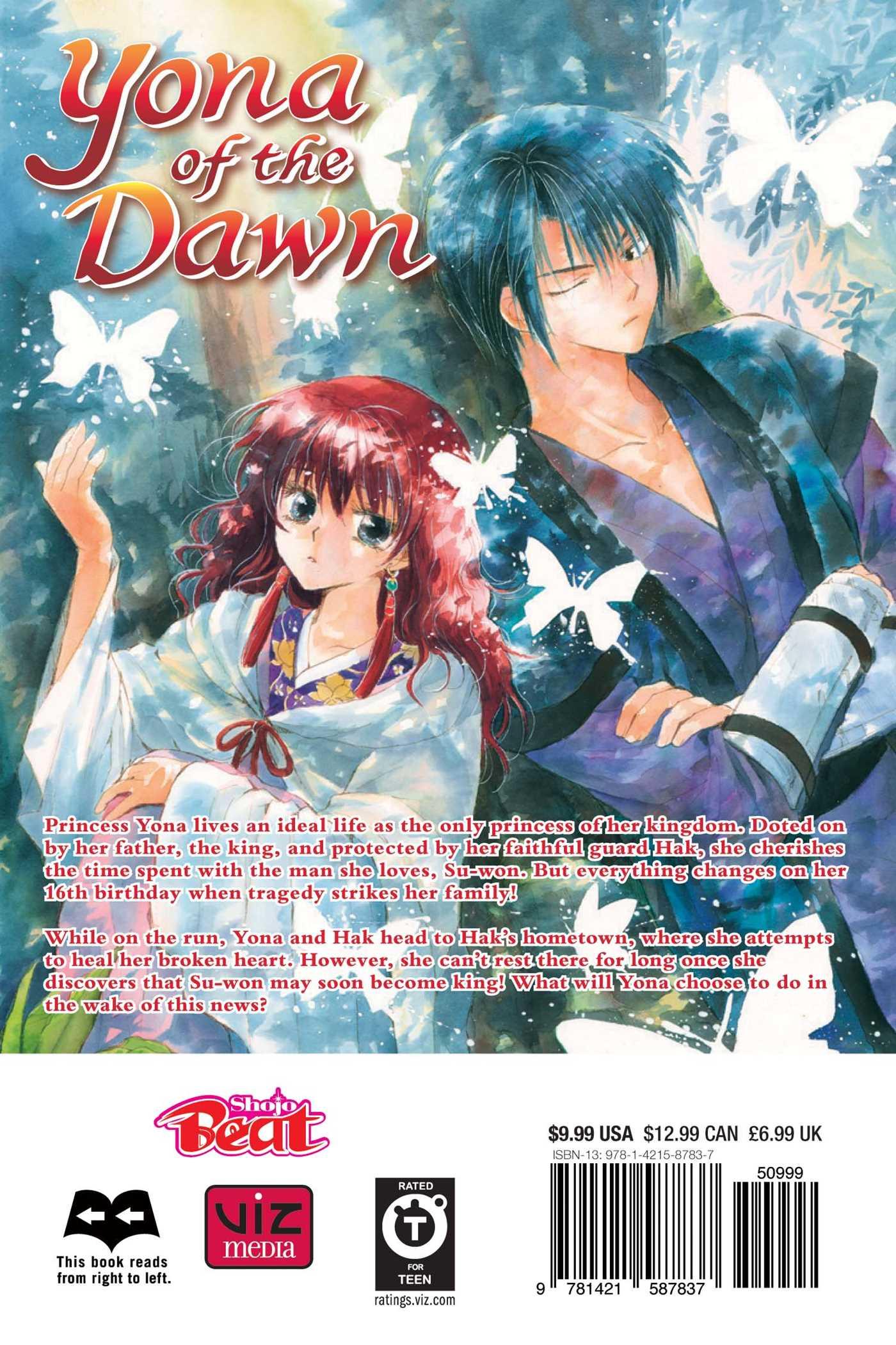 Yona of the Dawn Manga Volume 2