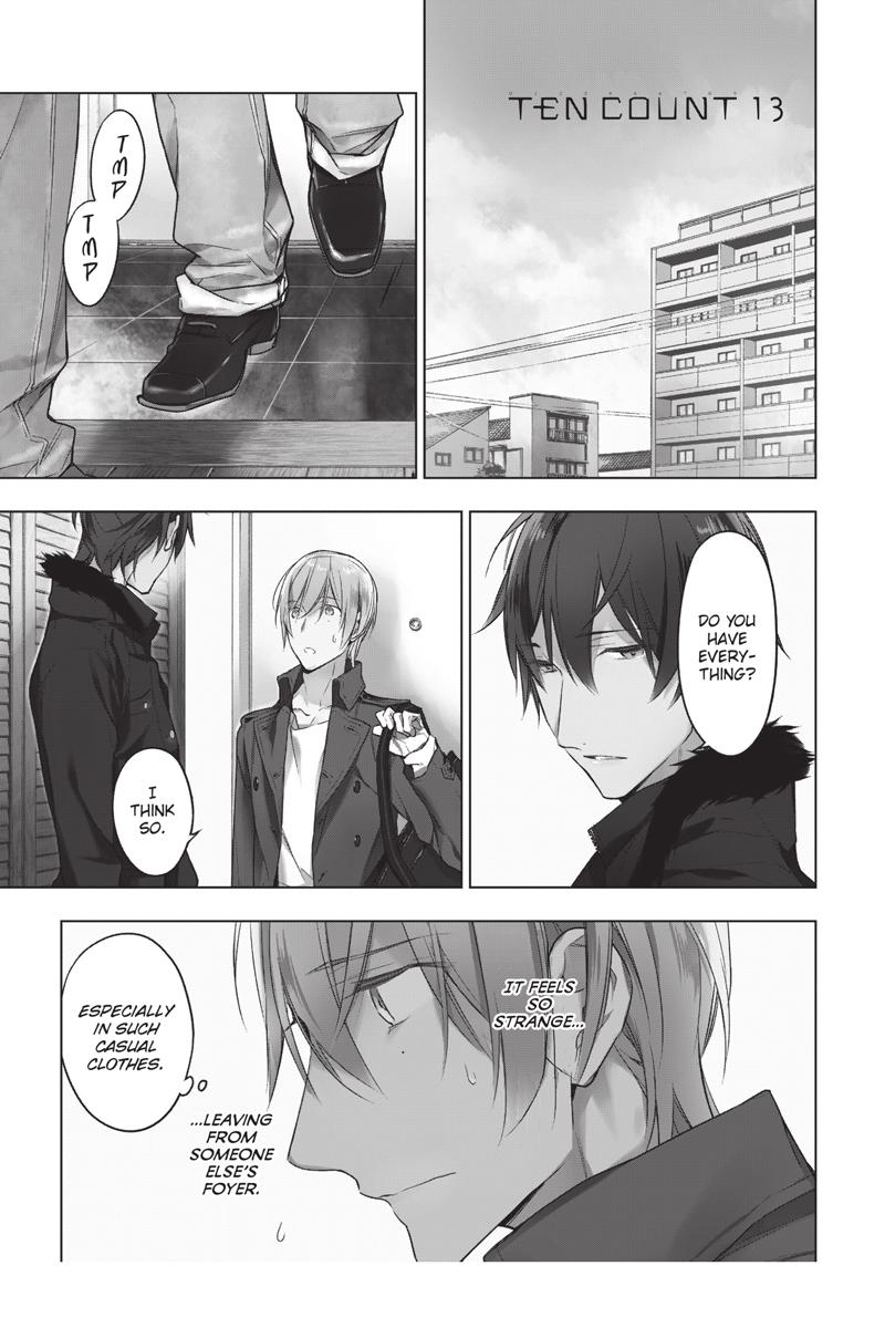 Ten Count Manga Volume 3
