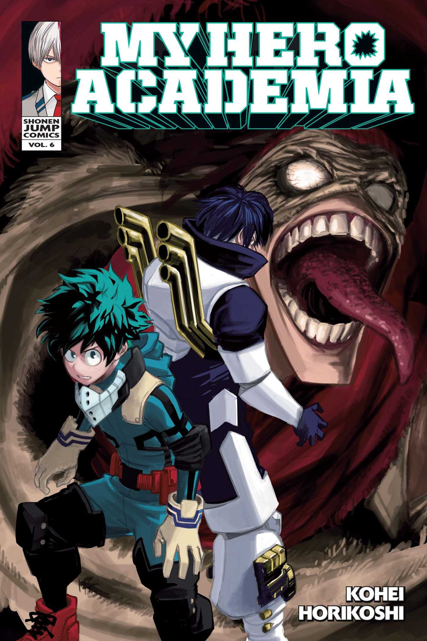 My Hero Academia Manga Volume 6