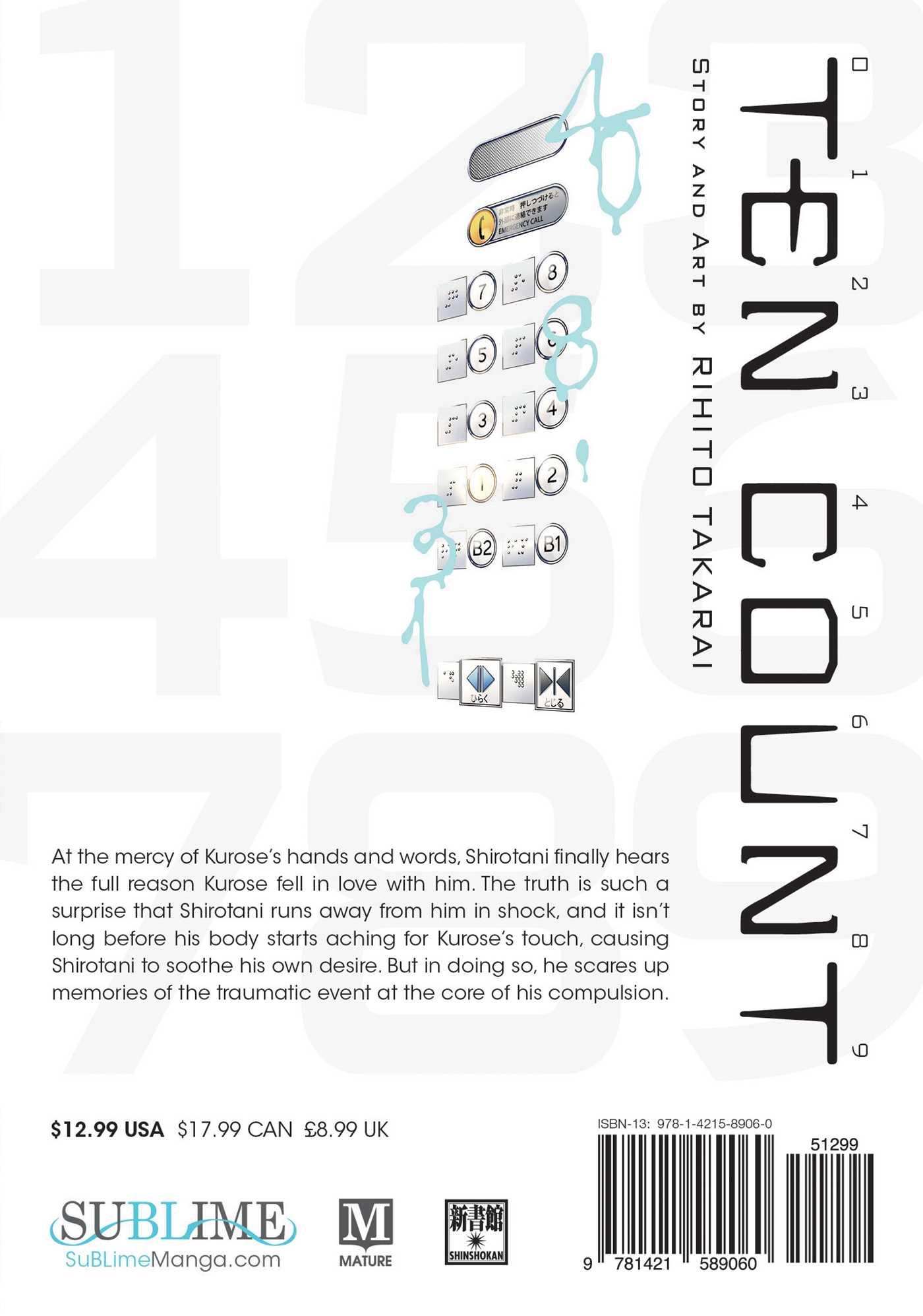 Ten Count Manga Volume 4