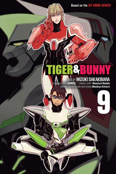 Tiger & Bunny Manga Volume 9