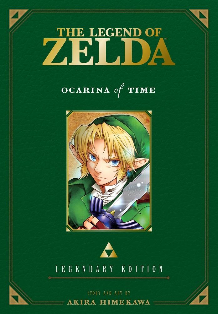The Legend of Zelda Legendary Edition Manga Volume 1 9781421589596