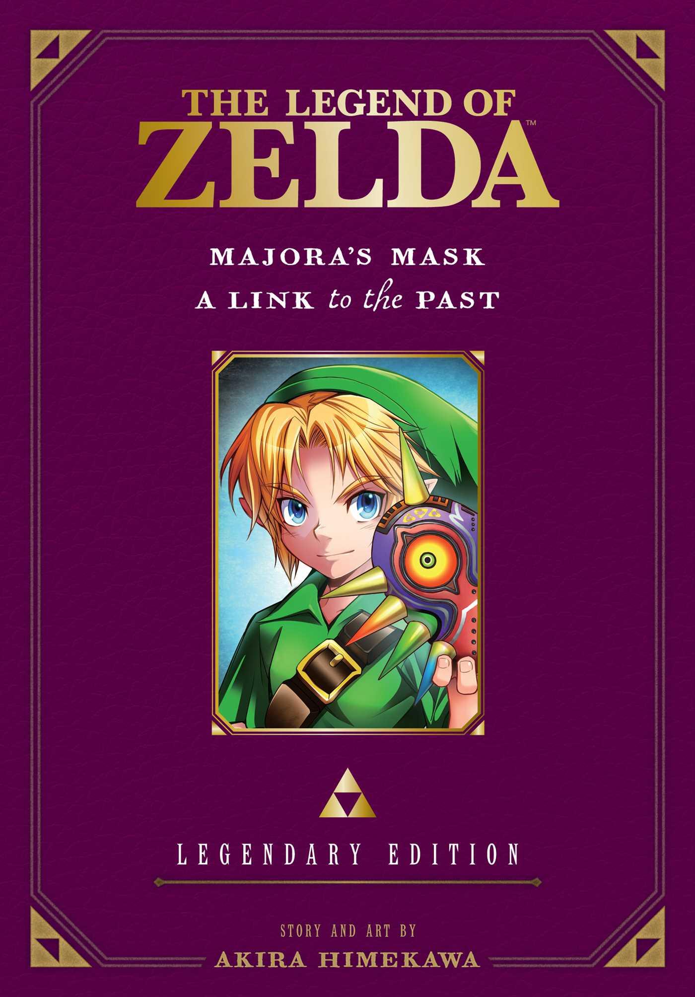The Legend of Zelda Legendary Edition Manga Volume 3 9781421589619