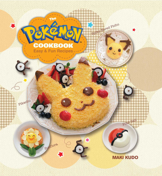 The Pokemon Cookbook Easy and Fun Recipes