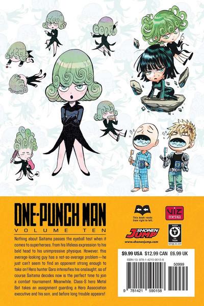 One-Punch Man Manga Volume 10