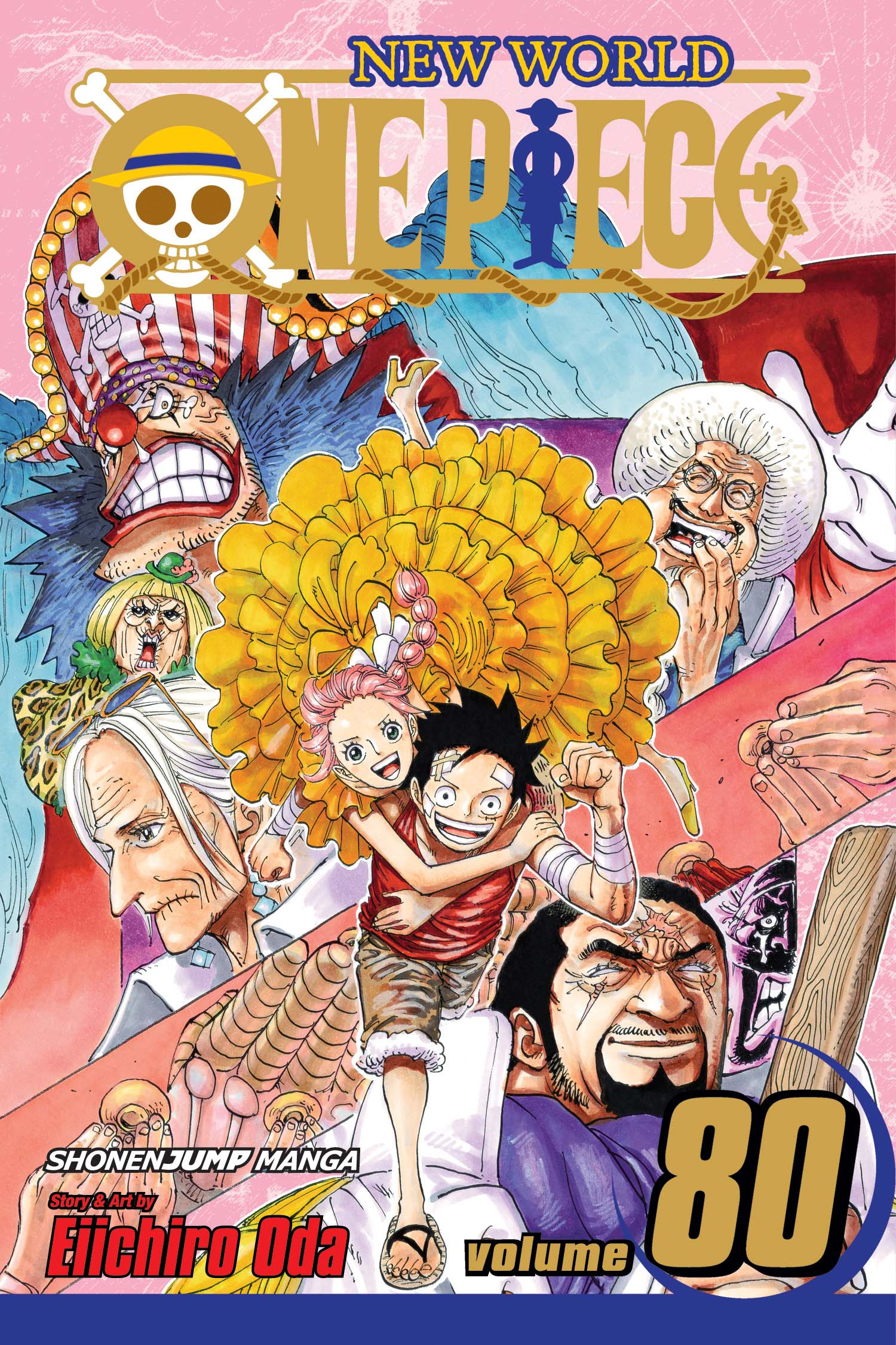 Drama Romance Books: One Piece Manga Volume 80