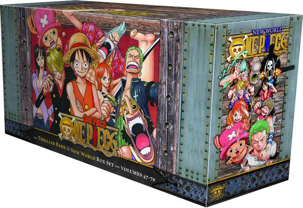 One Piece Manga Box Set 3