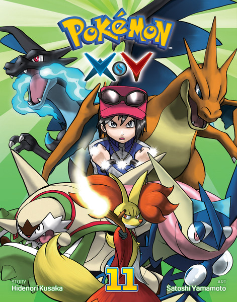 Pokemon XY Manga Volume 11