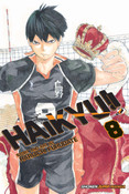 Haikyu!! Manga Volume 8
