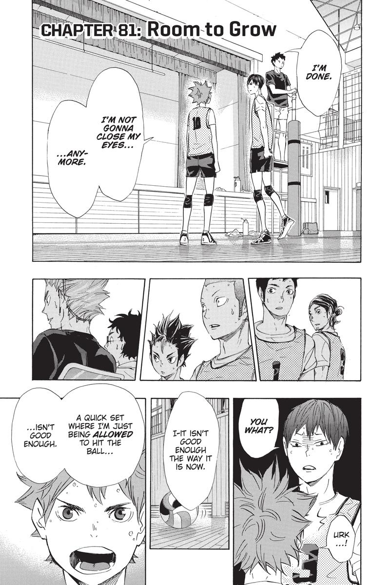 Haikyu!! Manga Volume 10