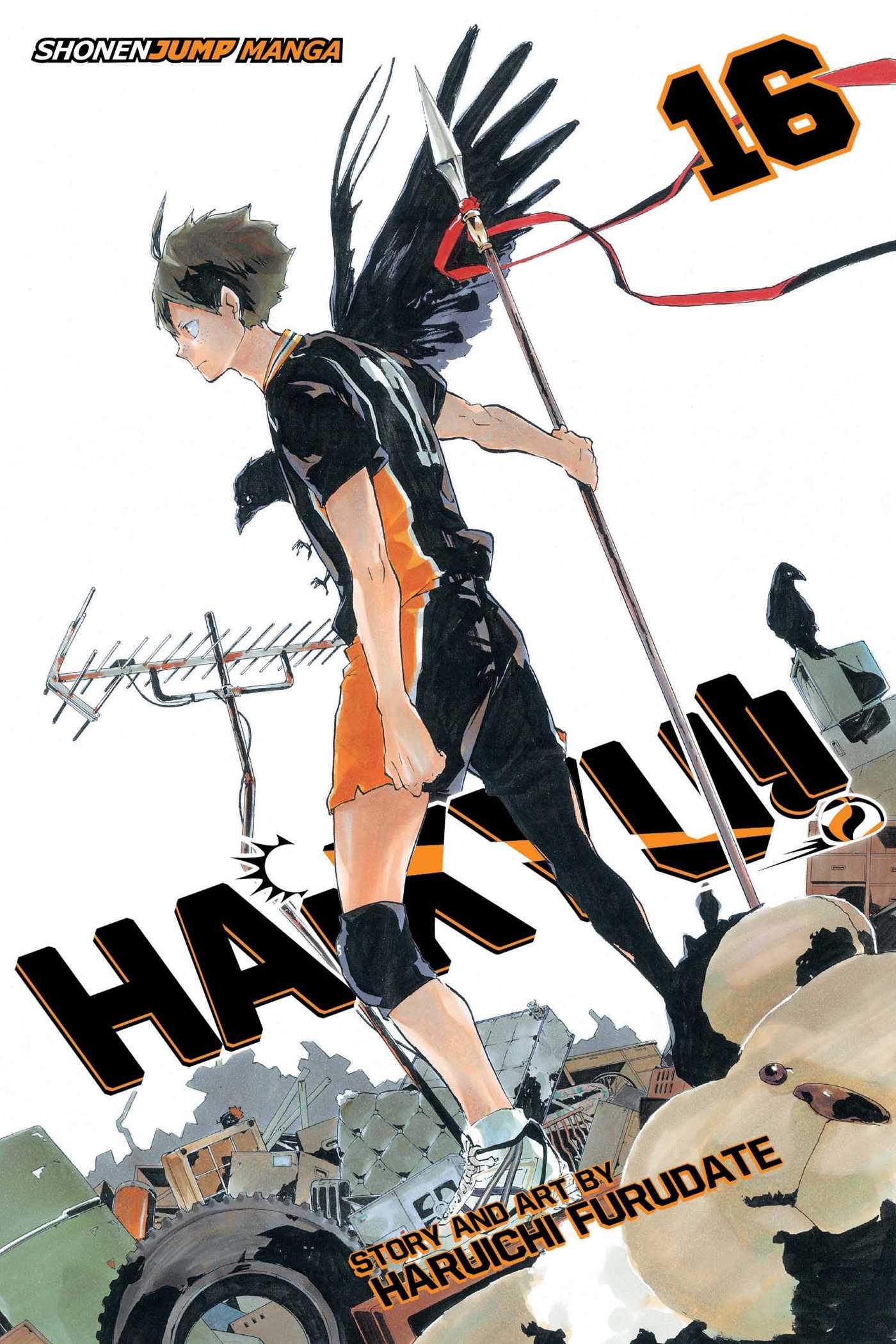 Haikyu!! Manga Volume 16