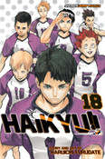 Haikyu!! Manga Volume 18