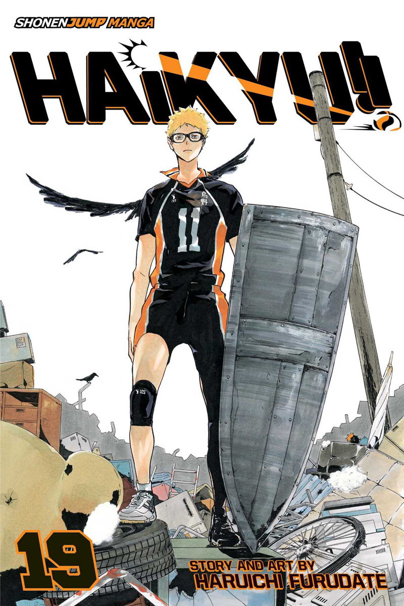 Haikyu!! Manga Volume 19