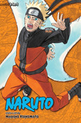 Naruto 3 in 1 Edition Manga Volume 19