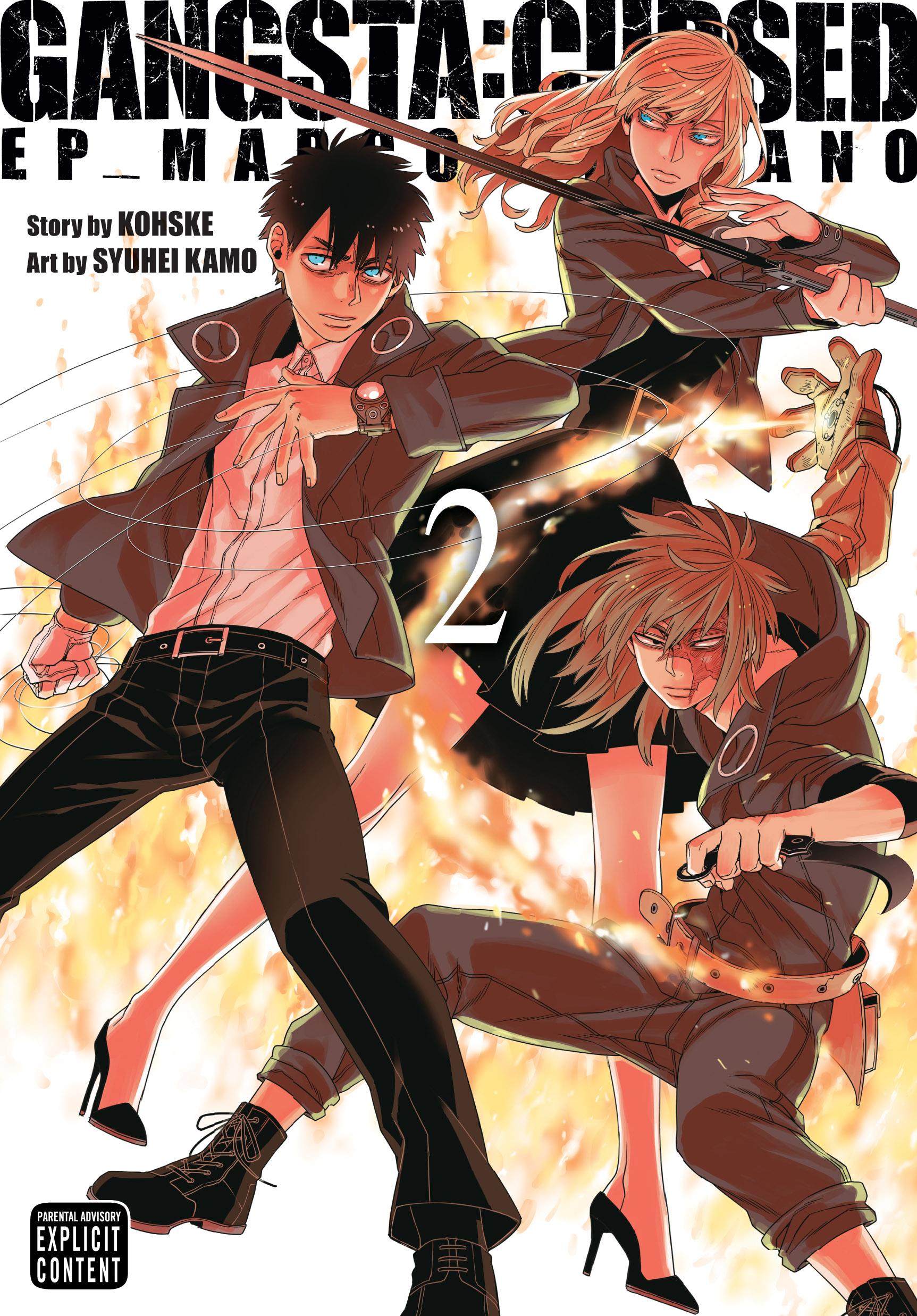 Gangsta Cursed Manga Volume 2