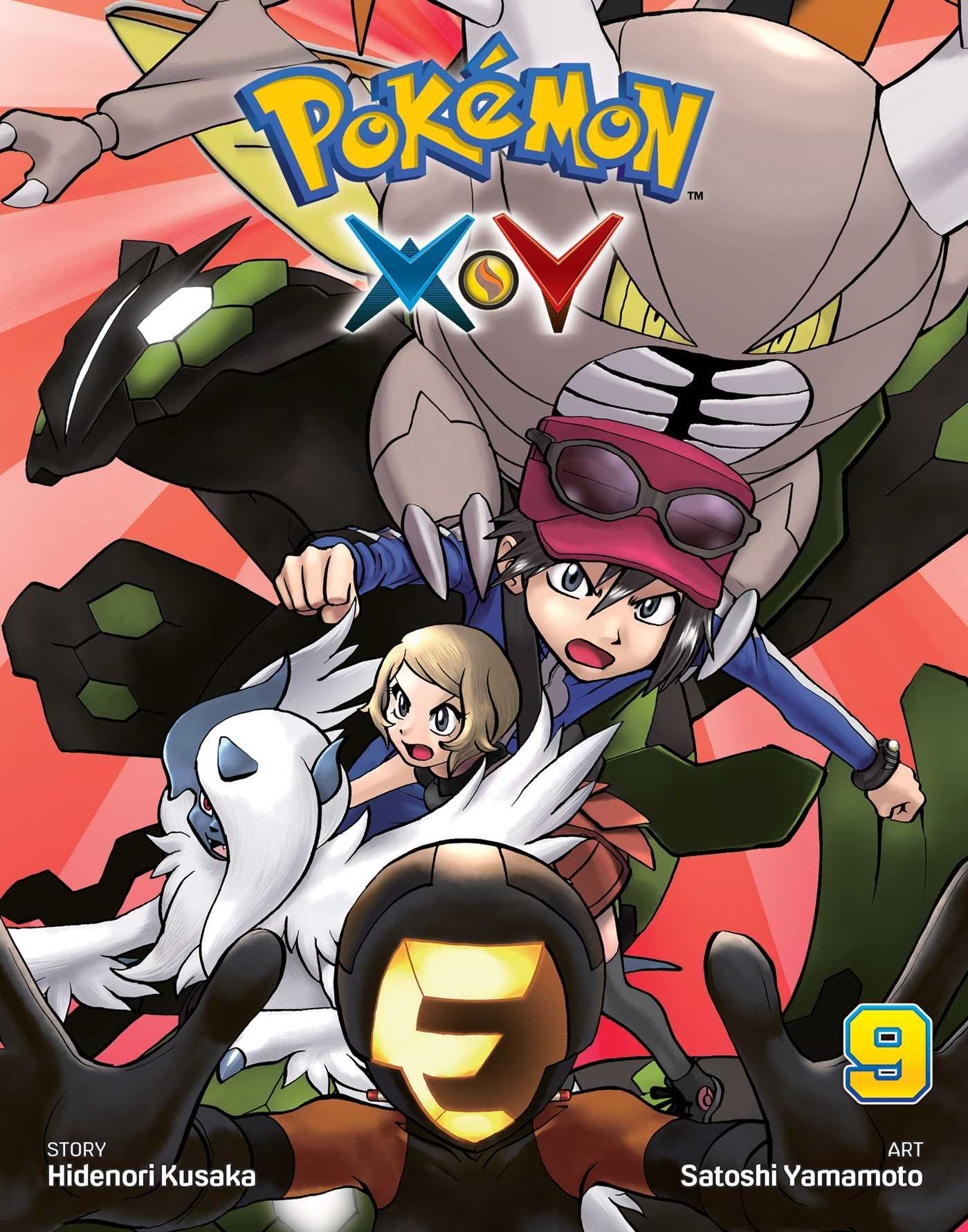 Pokemon XY Manga Volume 9