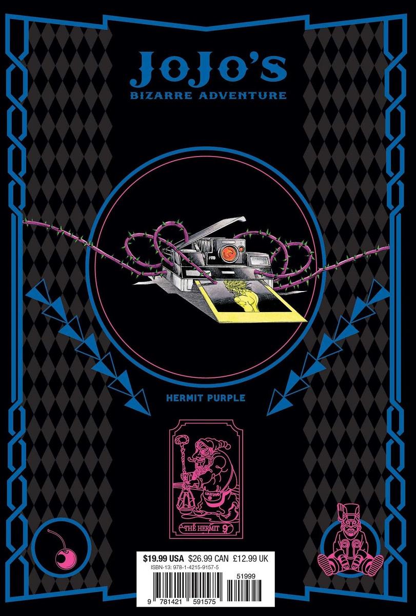 JoJo's Bizarre Adventure Part 3 Stardust Crusaders Manga Volume 2 (Hardcover)