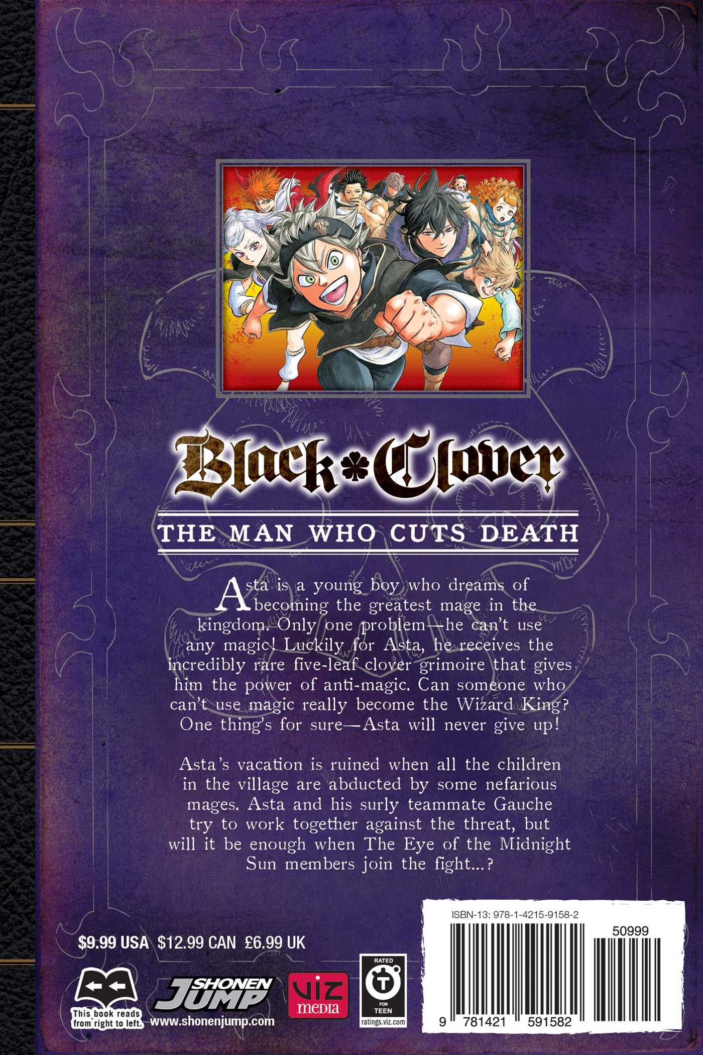 Black Clover Manga Volume 6