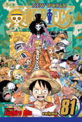 One Piece Manga Volume 81