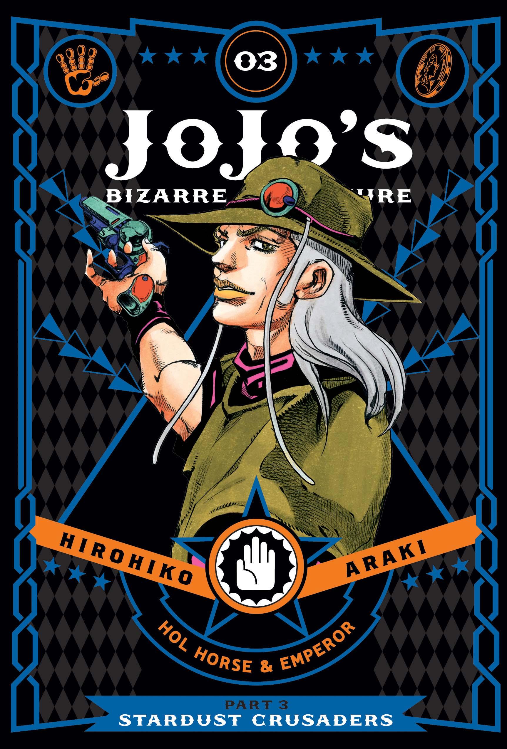 JoJo's Bizarre Adventure Part 3 Stardust Crusaders Manga Volume 3 (Hardcover)
