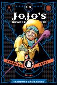 JoJo's Bizarre Adventure Part 3 Stardust Crusaders Manga Volume 4 (Hardcover)