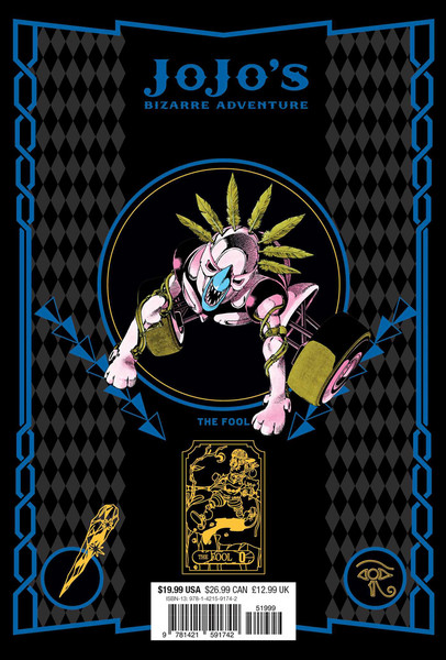 Jojo's Bizarre Adventure Part 3 Stardust Crusaders Manga Volume 8 (Hardcover)