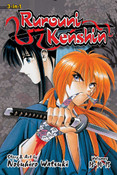 Rurouni Kenshin 3 in 1 Edition Manga Volume 5
