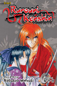 Rurouni Kenshin 3 in 1 Edition Manga Volume 6