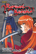 Rurouni Kenshin 3 in 1 Edition Manga Volume 7