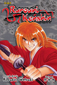 Rurouni Kenshin 3 in 1 Edition Manga Volume 8