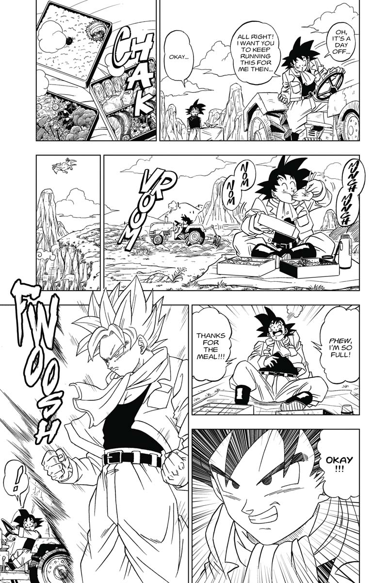 Dragon Ball Super Manga Volume 1