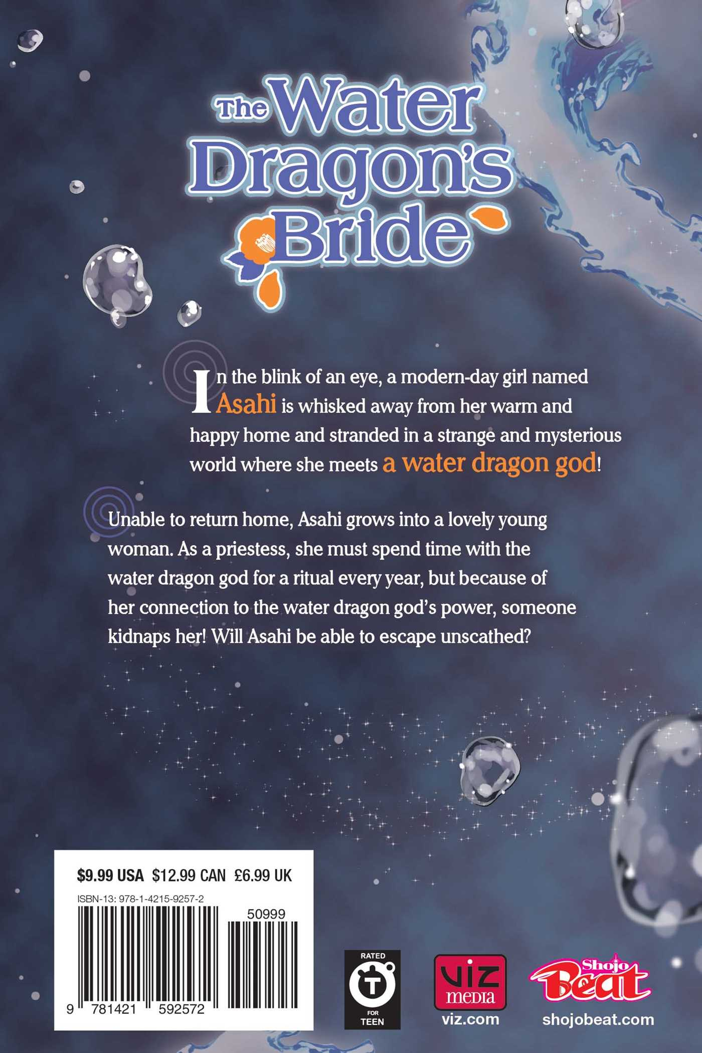 The Water Dragon's Bride Manga Volume 3