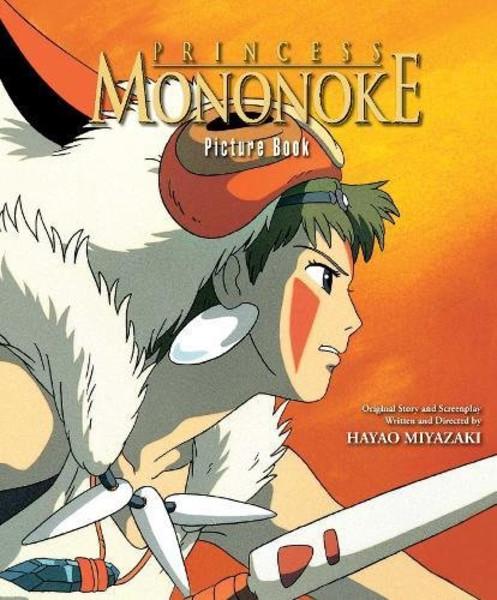 Princess Mononoke Picture Book (Hardcover)