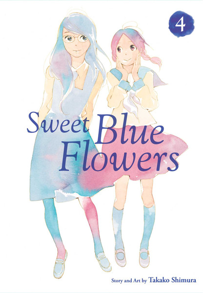 Sweet Blue Flowers Manga Volume 4