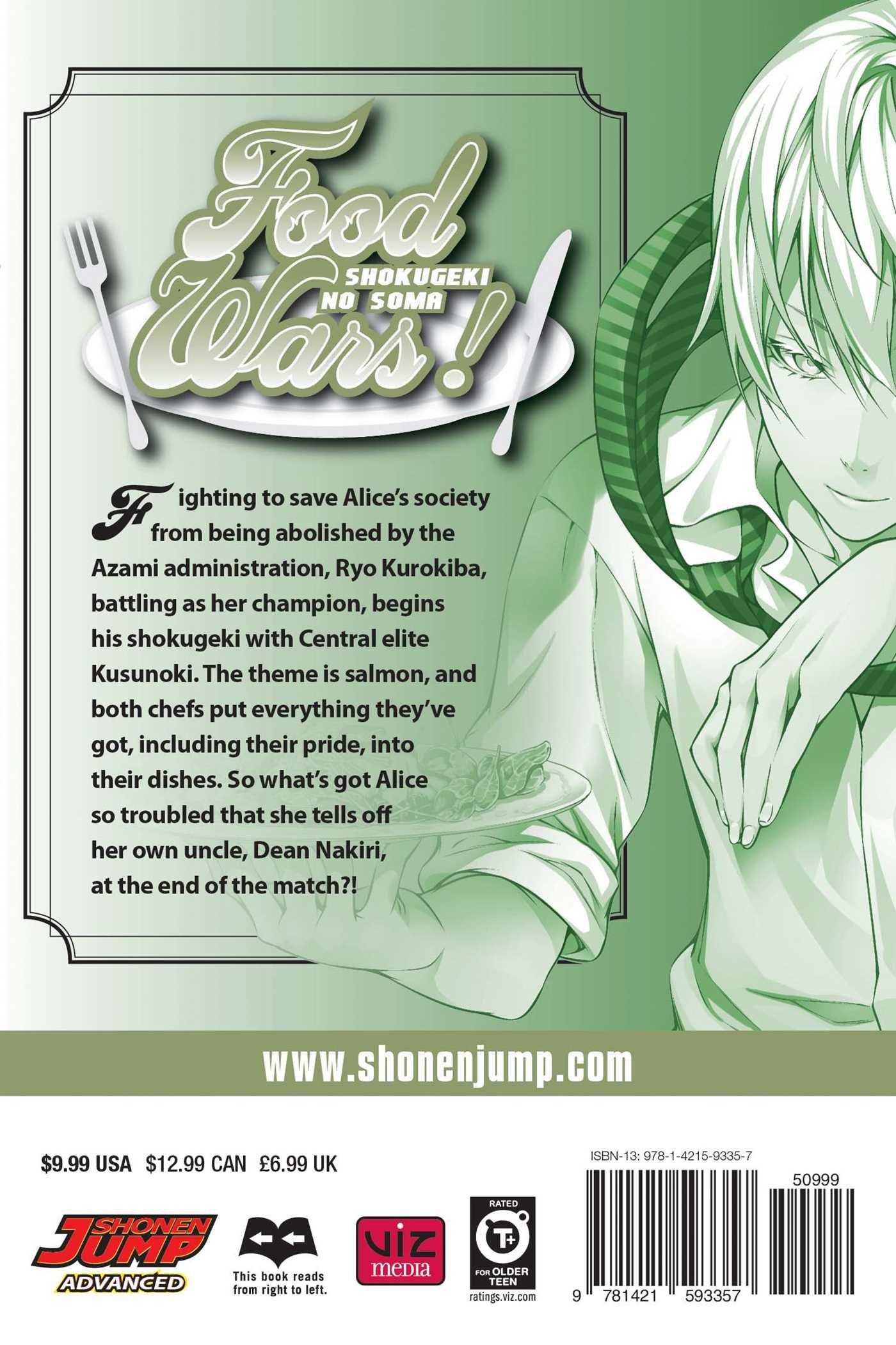 Food Wars! Manga Volume 19