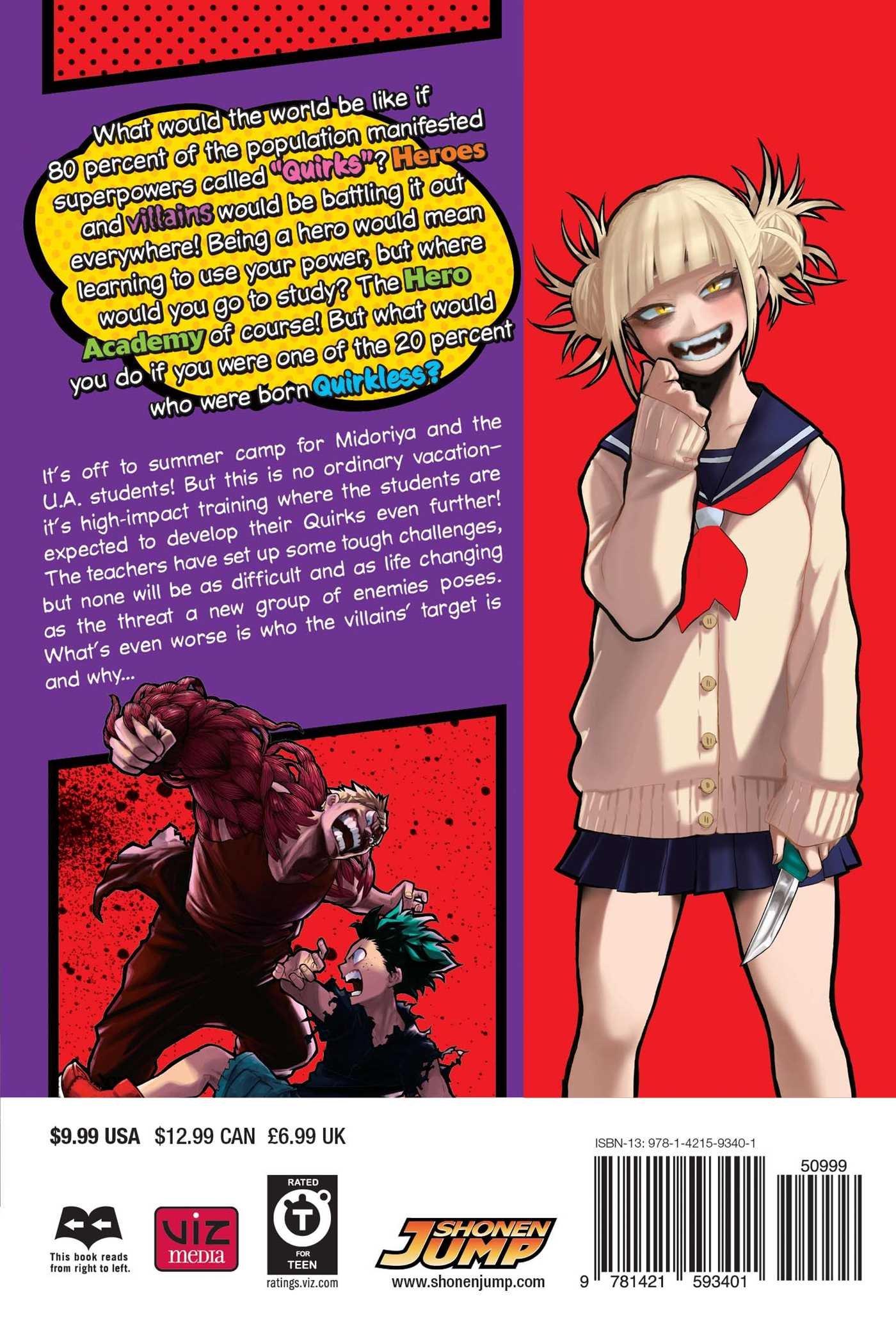 My Hero Academia Manga Volume 9
