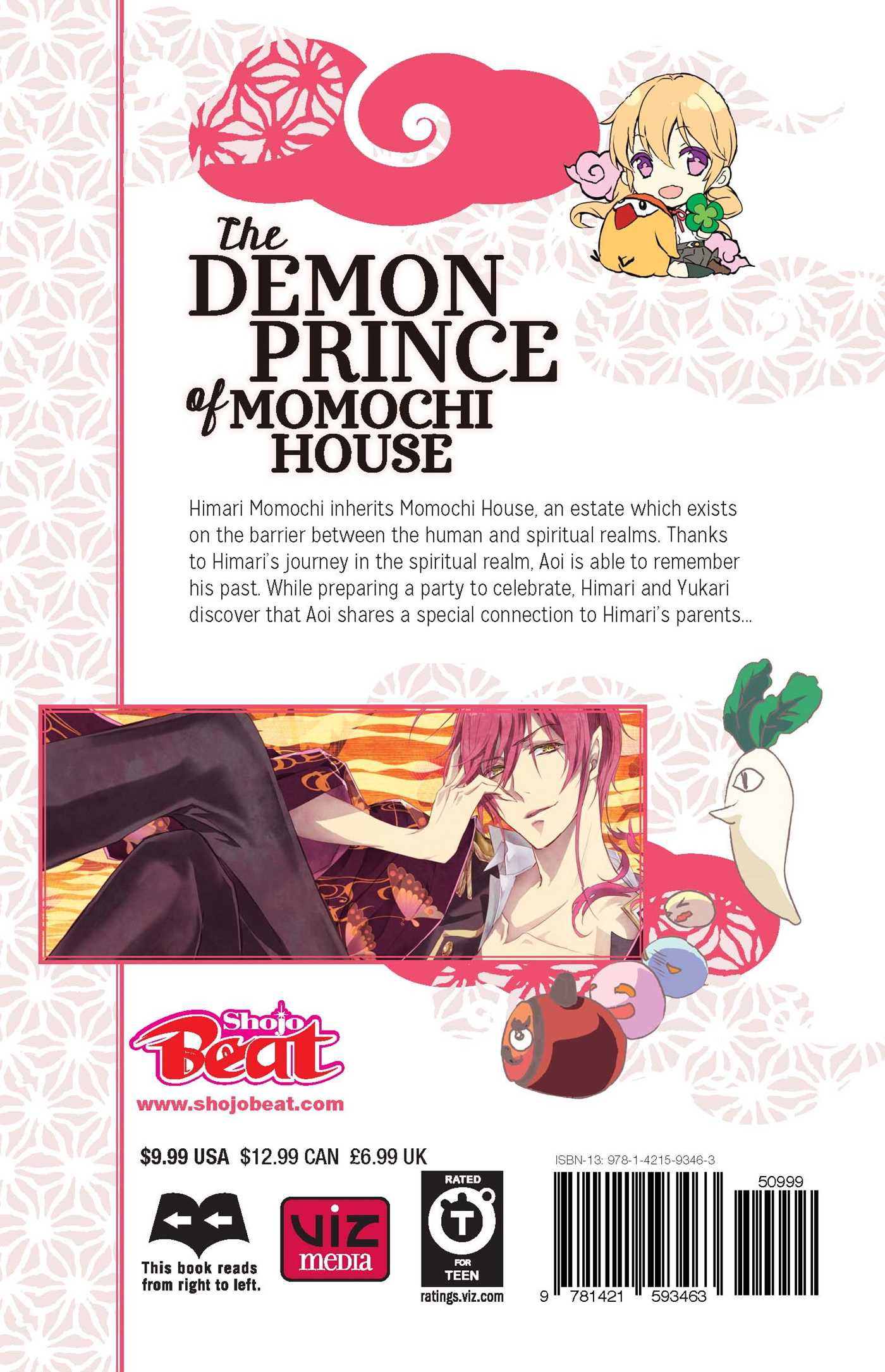 The Demon Prince of Momochi House Manga Volume 9