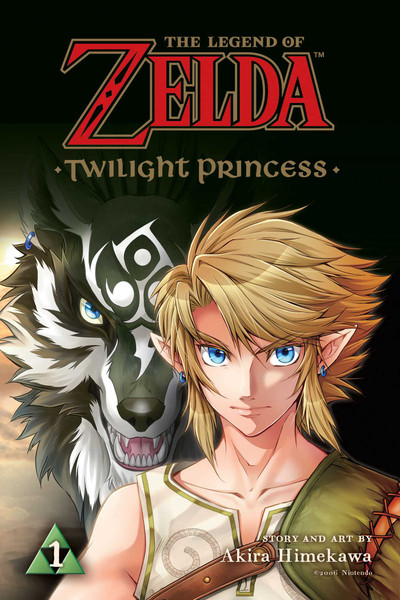 The Legend of Zelda Twilight Princess Manga Volume 1
