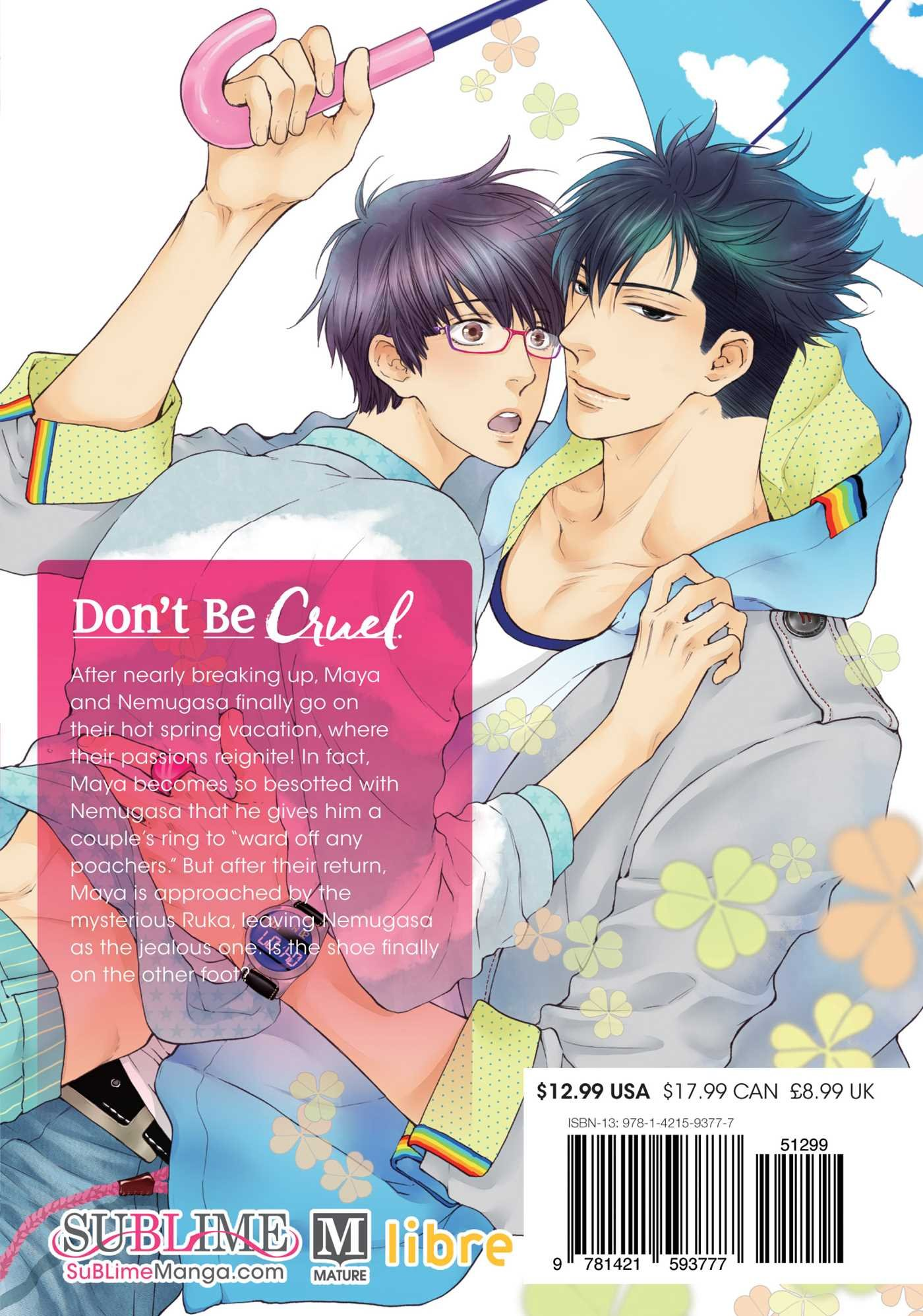 Don't Be Cruel Manga Volume 5