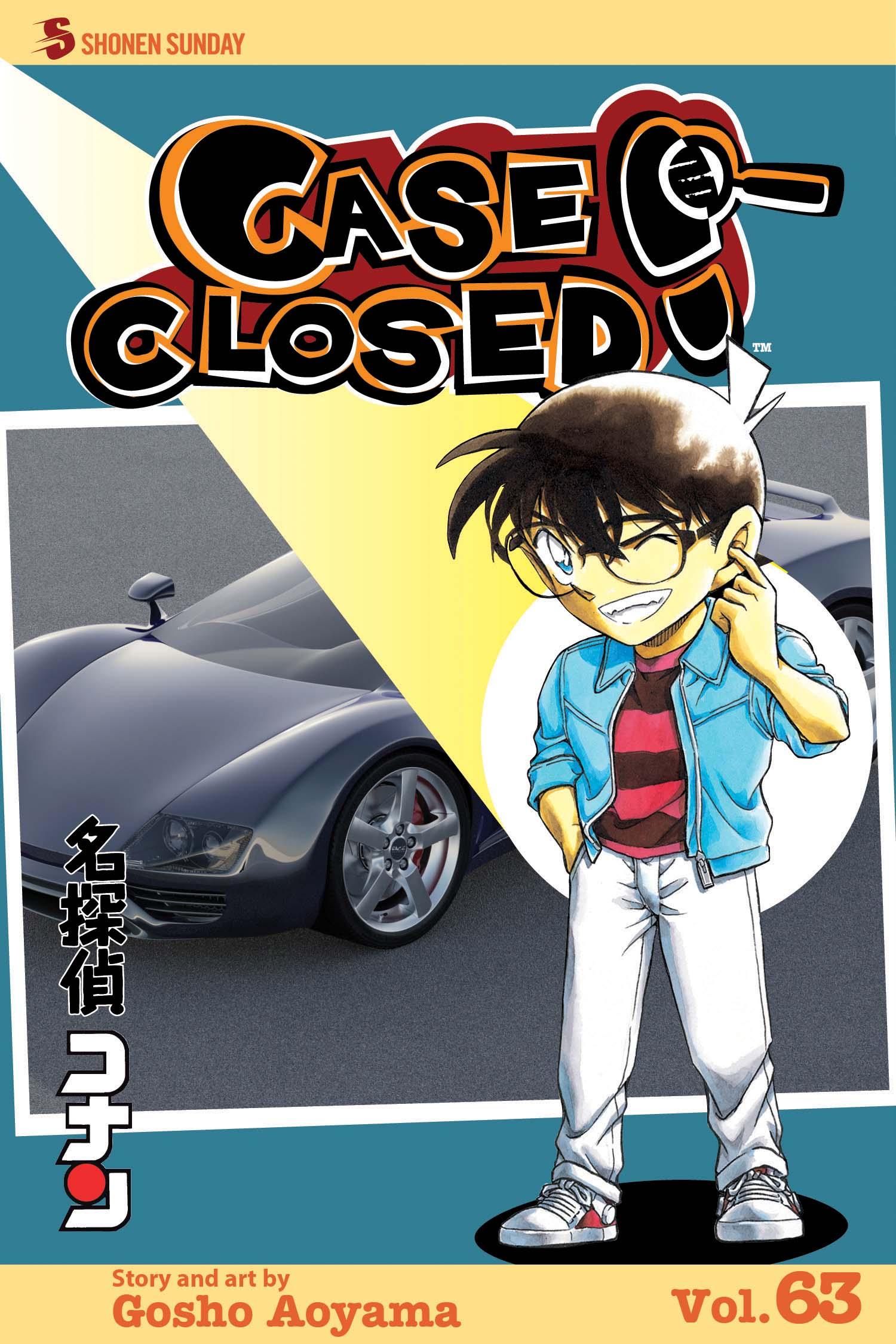 Case Closed Manga Volume 63