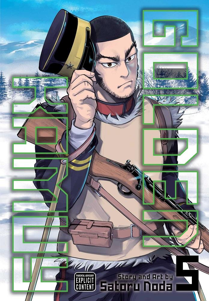 Golden Kamuy Manga Volume 5