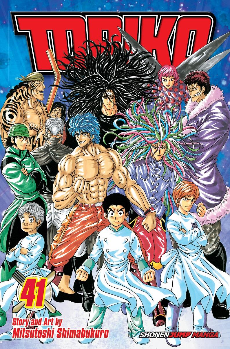 Toriko Manga Volume 41 9781421595146