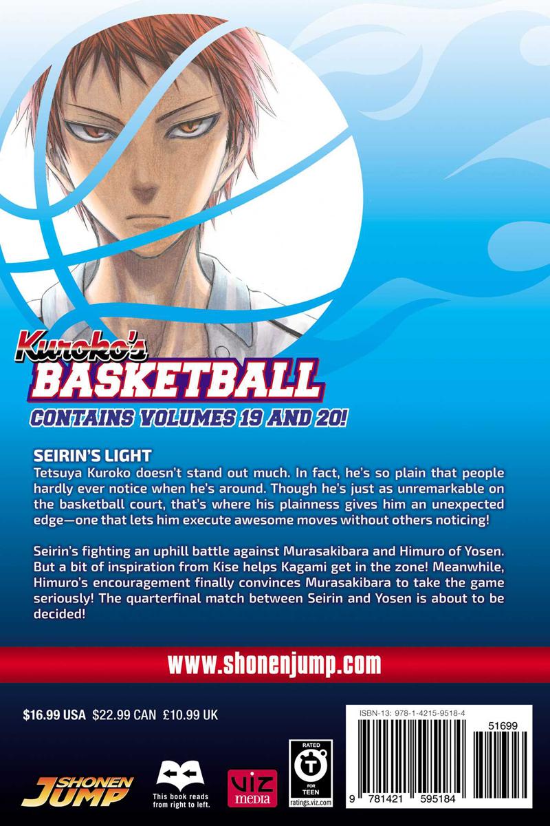 Kuroko's Basketball 2 In 1 Edition Manga Volume 10