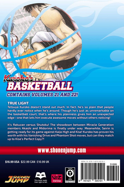 Kuroko's Basketball 2 In 1 Edition Manga Volume 11